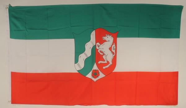Flagge Fahne Nordrhein Westfalen 90x60 cm NRW