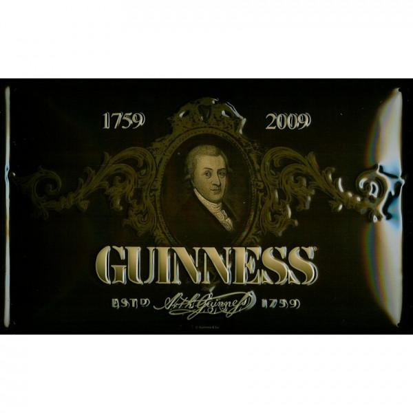 Blechschild Guinness Portrait Bier Schild Kneipenschild