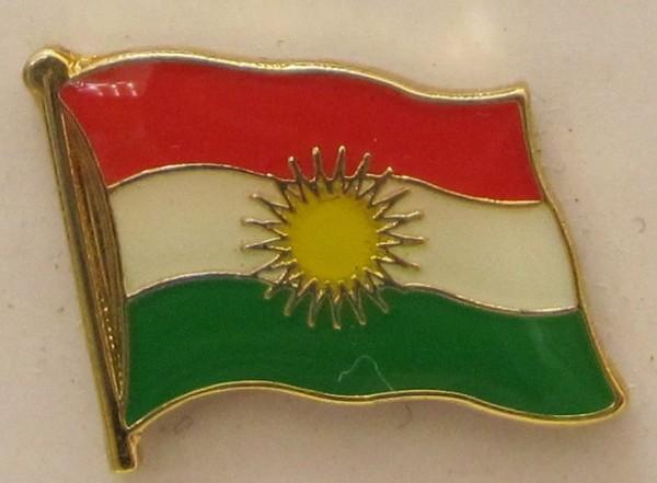 Kurdistan Pin Anstecker Flagge Fahne