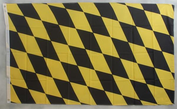 Flagge Fahne München Raute Stadtflagge schwarz gelb münchner Münchenflagge
