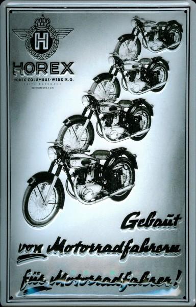 Blechschild Horex Motorräder Motorrad Nostalgieschild Schild