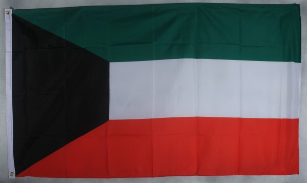 Flagge Fahne : Kuwait Nationalflagge Nationalfahne