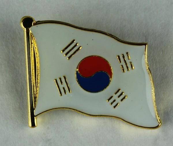 Süd Korea Pin Anstecker Flagge Fahne Nationalflagge