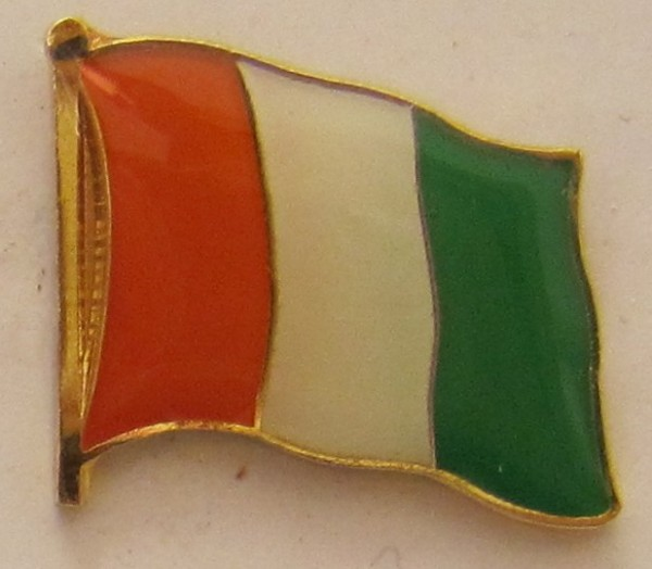 Elfenbeinküste Pin Anstecker Flagge Fahne Nationalflagge