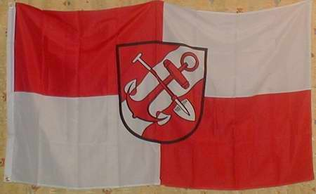 Flagge Fahne Brunsbüttel Nordsee