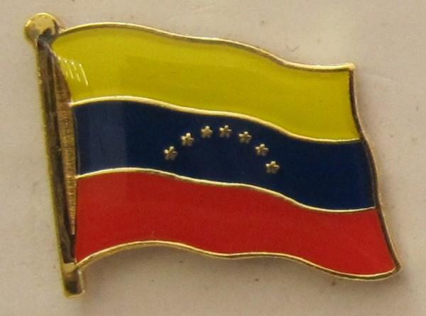 Venezuela Pin Anstecker Flagge Fahne Nationalflagge