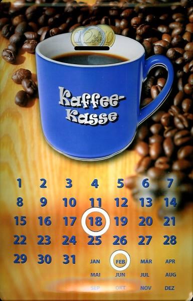 Blechschild Kaffeekasse Magnetkalender Kaffee Kasse Magnet Kalender Schild Nostalgieschild
