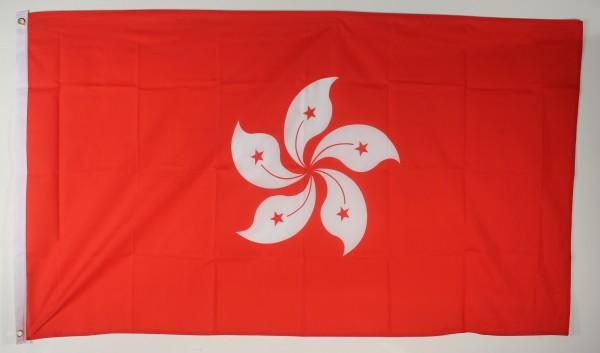 Flagge Fahne Hong Kong Hongkong 90x60 cm