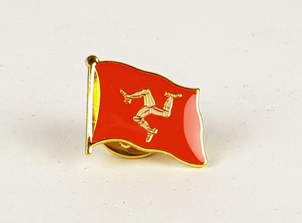Pin Anstecker Flagge Fahne Isle of Man