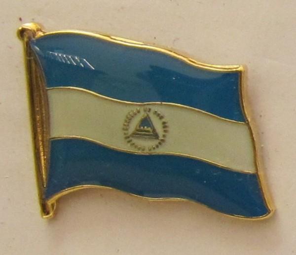 Nicaragua Flaggenpin Anstecker