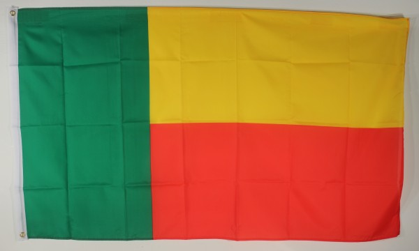 Flagge Fahne : Benin Beninflagge Nationalflagge Nationalfahne