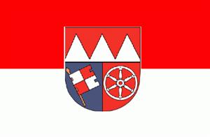 Flagge Fahne Unterfranken