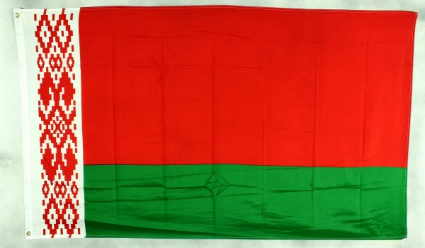 Flagge Fahne : Weißrussland Weissrusslandflagge Nationalflagge