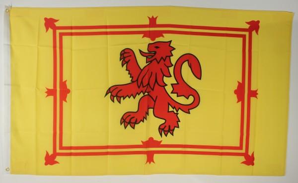 Flagge Fahne : Schottland Royal Löwe Stuart Königsflagge