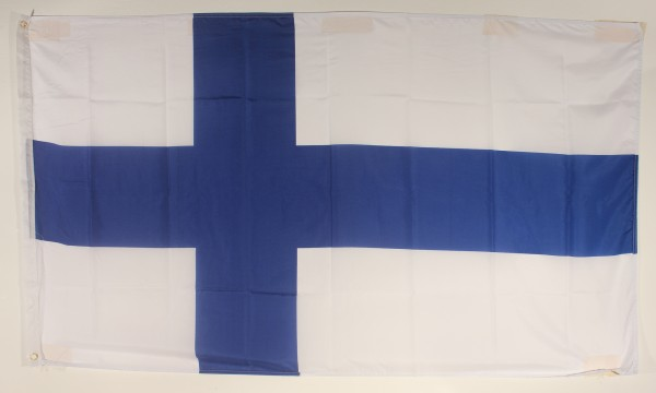 Flagge Fahne : Finnland Finnlandflagge Nationalflagge Nationalfahne