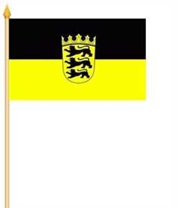 Stockflagge Baden-Württemberg 30x45cm