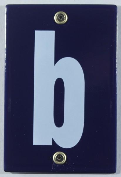 Hausnummernschild b Emaille Hausnummer Schild 12x8 cm Haus Nummer Zahl Ziffer Metallschild
