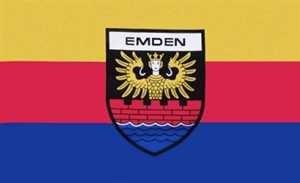 Flagge Fahne Emden Stadt