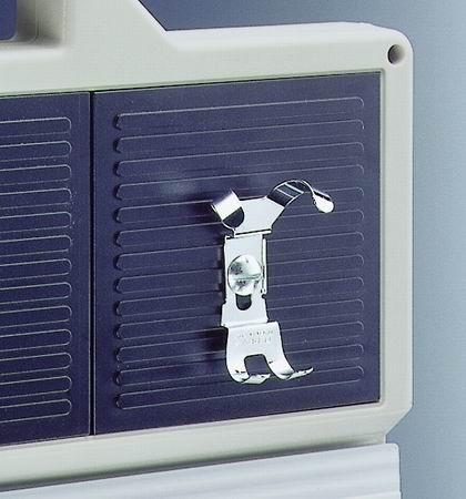 Halteklammer für mechanische Stoppuhren mit Metallgehäuse