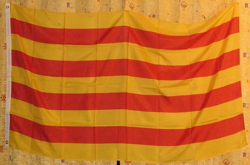 Flagge Fahne : Katalonien Spanien