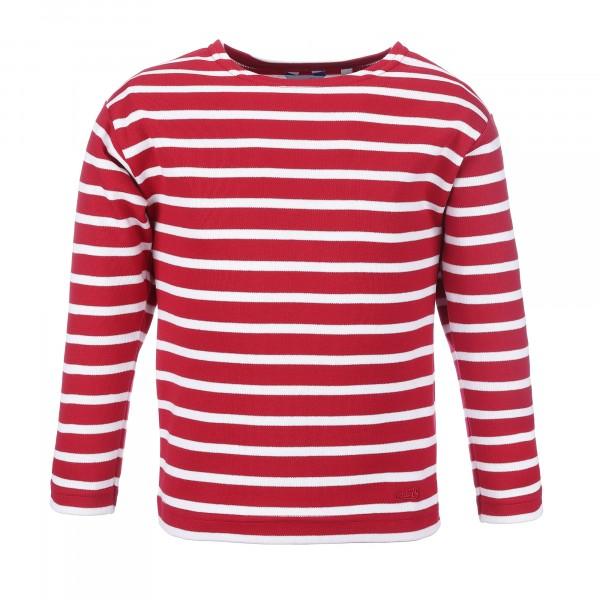 Bretonisches Kinder Shirt langarm von Modas Kinderhemd geringelt