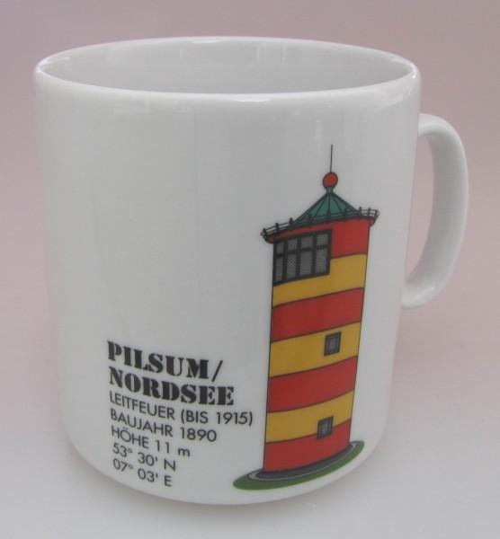 Leuchtturm Becher Pilsum Nordsee