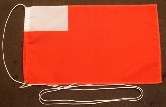 Tischflagge Abu Dhabi 25x15 cm optional mit Holz- oder Chromständer Tischfahne Tischfähnchen