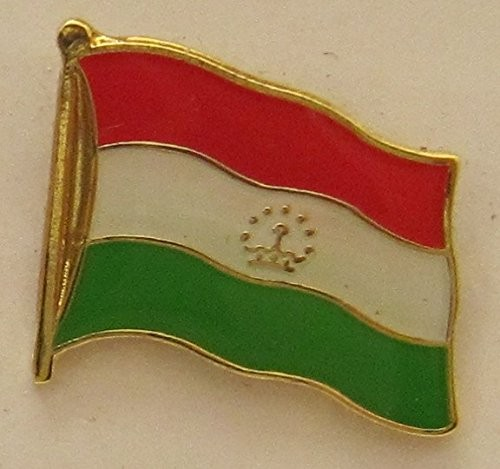 Tadschikistan Pin Anstecker Flagge Fahne Nationalflagge