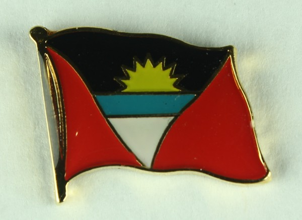 Antigua Pin Anstecker Flagge Fahne Nationalflagge