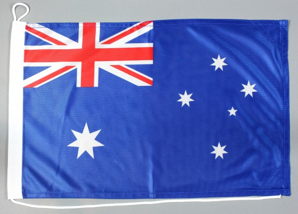Bootsflagge Australien 30x45 cm Motorradflagge Bootsfahne