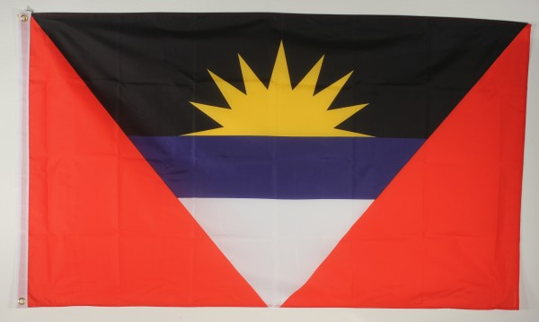 Flagge Fahne : Antigua Antiguaflagge Nationalflagge Nationalfahne