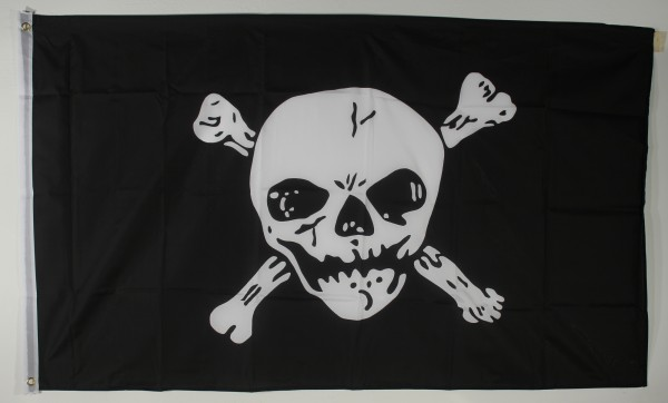 Flagge Fahne : Pirat Skull and Bones