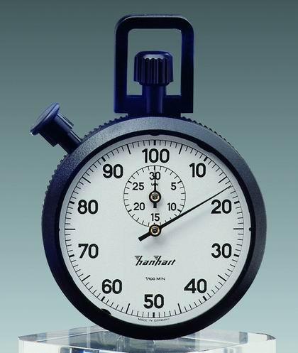 Mechanische Stoppuhr Hanhart ABS 1/100 min, 30 min