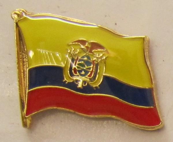 Ecuador Pin Anstecker Flagge Fahne Nationalflagge