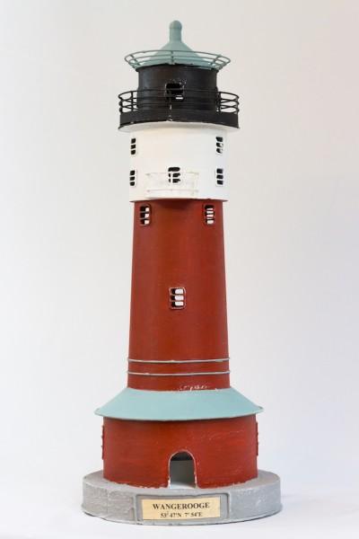 Blechleuchtturm Wangerooge 45 cm Leuchtturm Modell