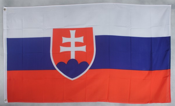 Flagge Fahne : Slowakei Slowakeiflagge Nationalflagge Nationalfahne
