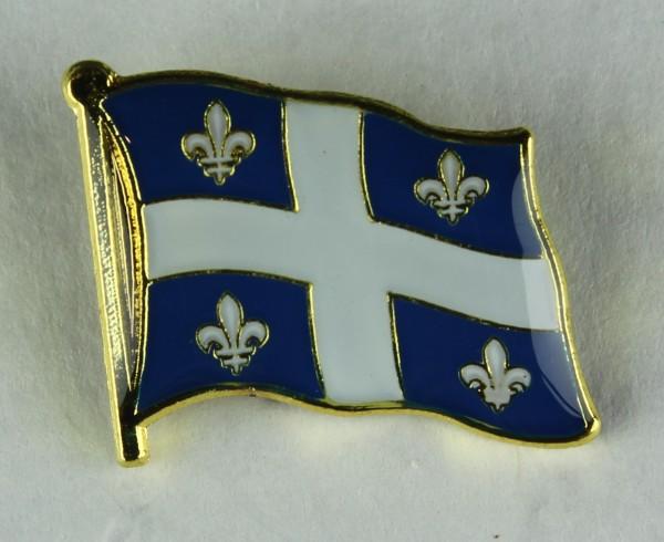 Quebec Kanada Pin Anstecker Flagge Fahne