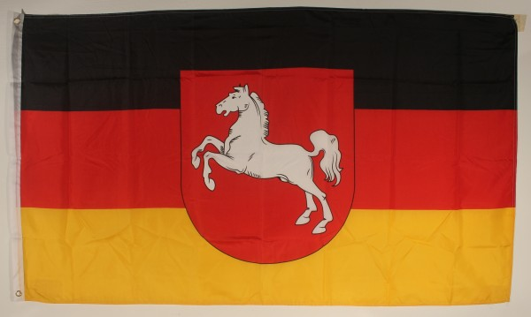 Niedersachsen Flagge Großformat 250 x 150 cm wetterfest