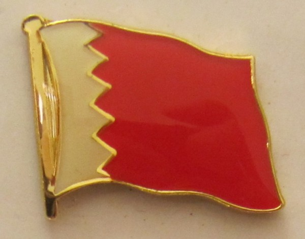 Bahrain Pin Anstecker Flagge Fahne Nationalflagge