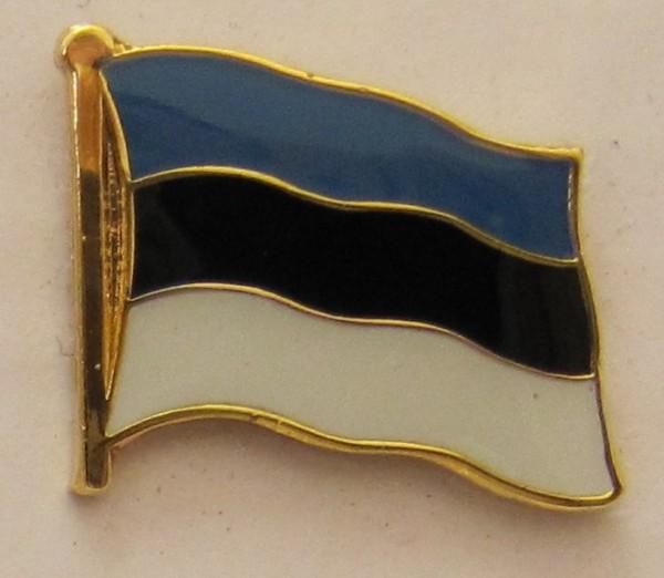 Pin Anstecker Flagge Fahne Estland Nationalflagge Flaggenpin Button Badge Flaggen Clip Anstecknadel
