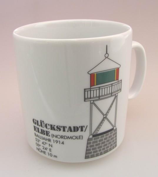 Leuchtturm Becher Glückstadt / Elbe *