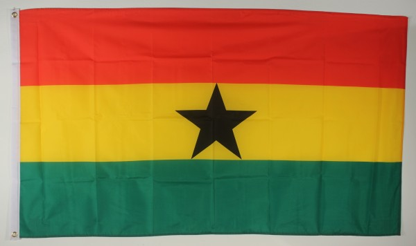 Flagge Fahne : Ghana Ghanaflagge Nationalflagge Nationalfahne