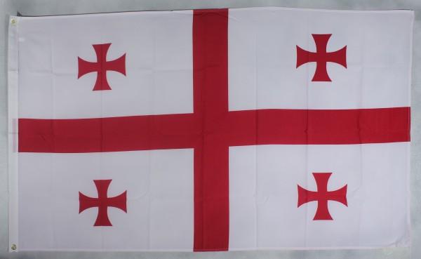Flagge Fahne Georgien 90x60 cm