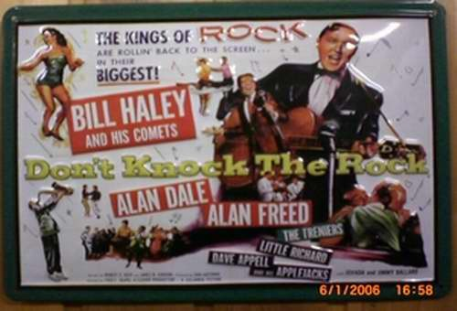 Blechschild Nostalgieschild Bill Haley The kings of Rock