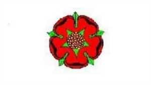 Flagge Fahne : Lancashire (Red Rose) England