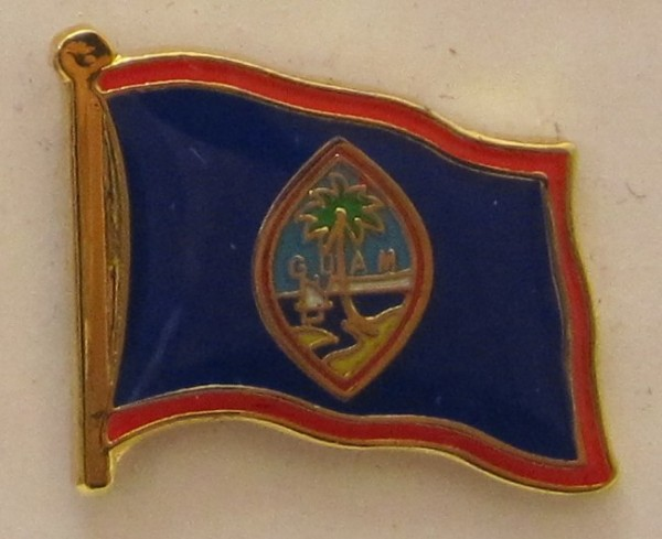 Guam Pin Anstecker Flagge Fahne Nationalflagge