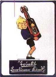 Blechschild Berliner Kindl Bier (1) Biere Schild retro Werbeschild Kneipenschild