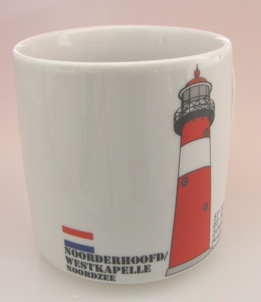 Leuchtturm Becher Noorderhoofd Niederlande Holland