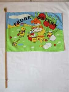 Stockflagge Frohe Ostern 30x45cm