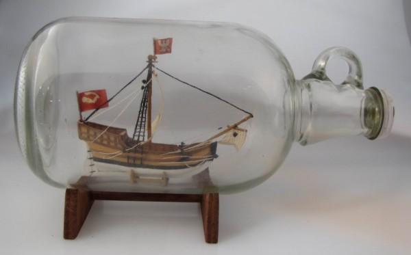 Buddelschiff Hansekogge 1,5 Liter